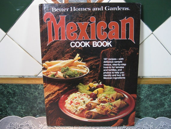 Vintage Cookbook: Better Homes and Gardens Mexican Cook Book
