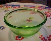 Vintage Green Mixing Bowl