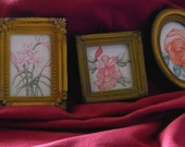Miniature Flower Drawings