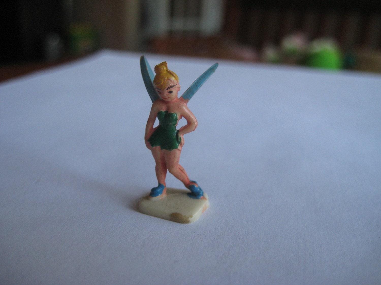 Vintage miniature disney tinkerbell figurine - Tinkerbell statues ...