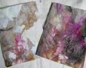 Handmade Art Notebooks, Pack of Two
