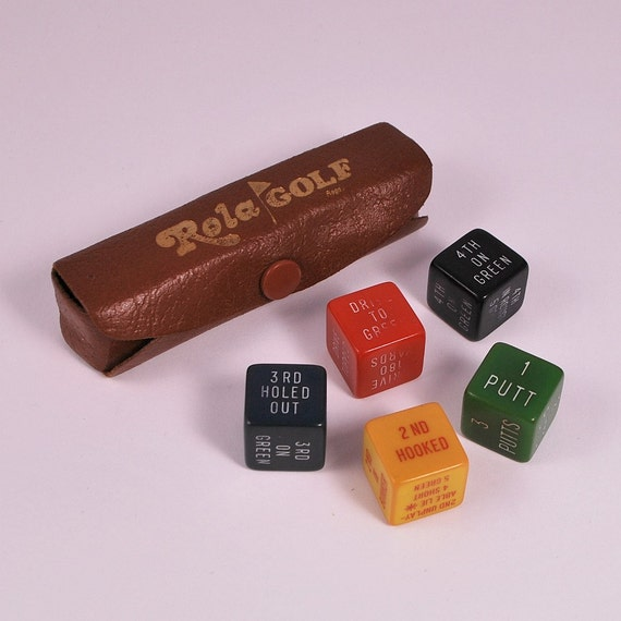 Vintage Dice Game 19