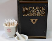 1943 The Home Physician and Guide to Health - Vintage Medical