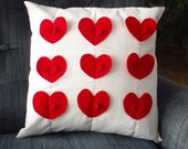 Heart Pillow Cover in 3D