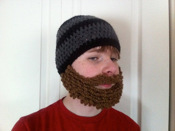 PATTERN: Bearded Beanie Style 1 by Bean's Bag