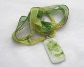 Spring Organic Pendant in Glass