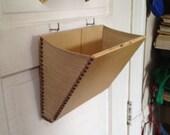 Mail Slot Catcher, smaller (pouch, basket, box thingeemabob)