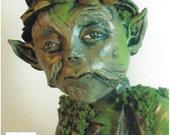 OOAK Art Doll Ent Forest Spirit  IADR Registry No.798863
