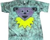 Tie Dye Tee, Purple Jerry Bear: L