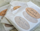 "CUSTOM Oval Labels 2""x1""  Wedding Labels - Personalized -seals/Stickers- custom text"