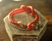 Reef Knot Anchor Nautical Bracelet