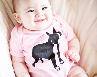 Logo Baby Onesie Available in NB-6M-12M-18-M-24M