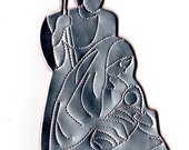 Holy Family Ornament- Nacimiento de PR- Recycled Can