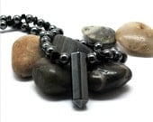 Mens Hematite Necklace