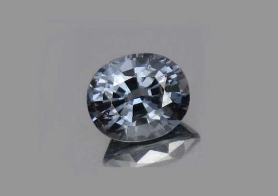 Platinum Blue Spinel Faceted Gemstone 8x7mm Oval Cut 1.96ct Precious Loose Stone Natural Gem Wholesale
