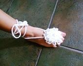 Barefoot Sandals/Foot Thongs/Crohet
