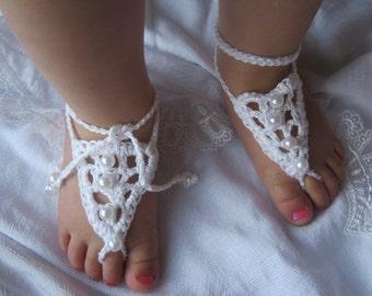 Barefoot Sandals Wedding - Newborn to Child