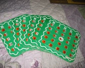 Vintage Travel Bingo Cards