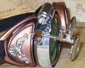 ARRIVAL of  the YEAR 1846 --  Victorian Steampunk goggles aviator victorian - UmbrellaLaboratory