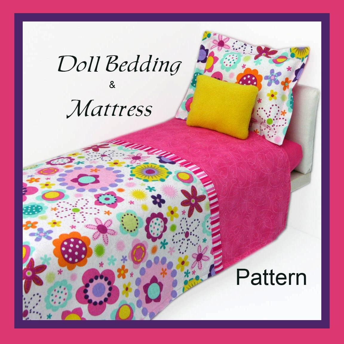 Doll Bed Mattress Pattern