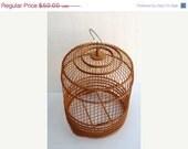 Vintage Vavoom Sale Vintage Round Wooden Birdcage