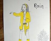 it looks like rain little girl