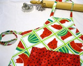 Watermelon Seeds Child Apron