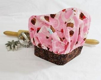 Tossed Cupcakes N Sprinkles Child Chef Hat - Adjustable