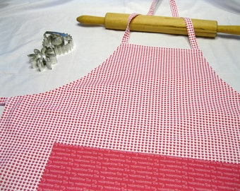 Valentines Day Hearts Adult Apron