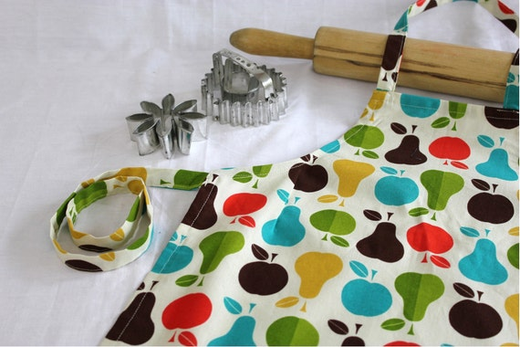 Healthy Cooking Child Apron