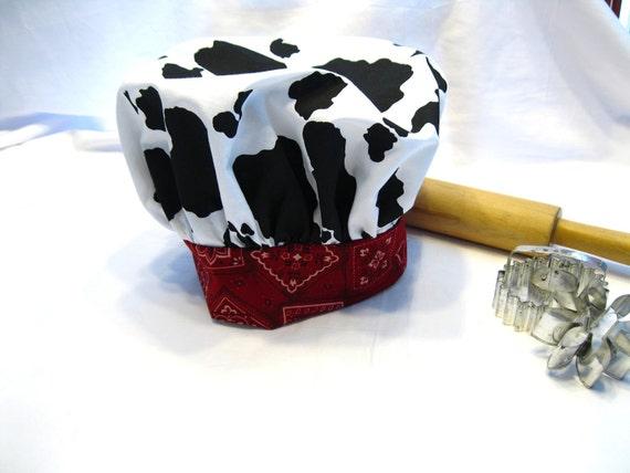 Little Cowboy Child Chef Hat - Adjustable