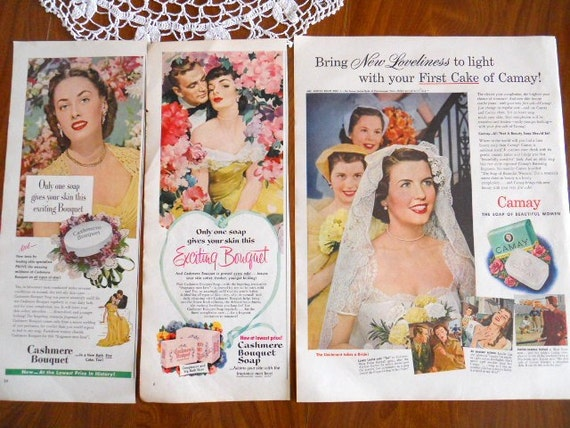 Soap And Detergent Ads  From 1950's Magazines - 6