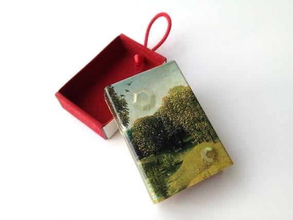matchbox art - Ithaca