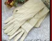 Elizabeth Taylor's White Leather Gloves