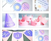 Tangled Inspired Princess COMPLETE  Birthday Party Package