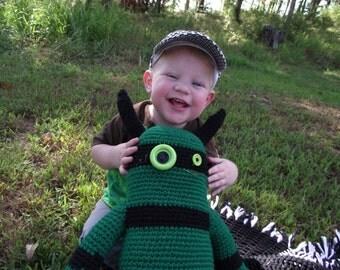 My Little Monster- Crochet Creature