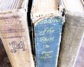 Three Hard Cover Vintage & Antique Books - Super Shabby