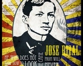 Jose Rizal - A Filipino Hero - Illustration print 8x10
