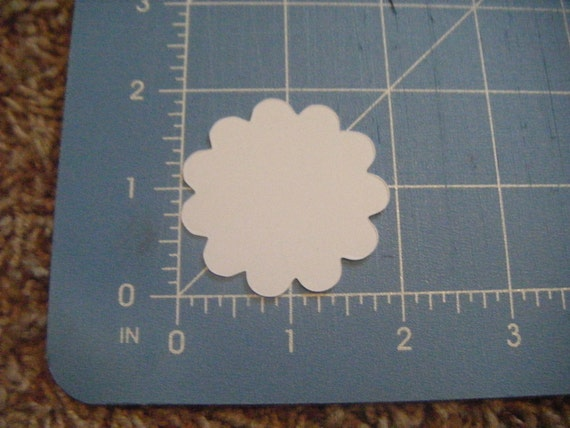 Die Cut Circles, Graduation, Birthday, Wedding Labels in Kraft or ANY color Set of 10 Large or 20 small