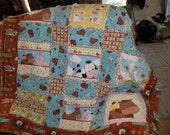western rag quilt