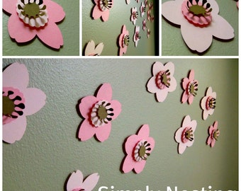 Wall Flowers...3d Flowers. Part 65