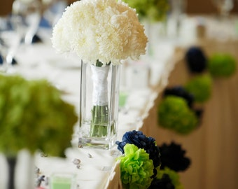 tissue paper pom pom...wedding garland...pick your colors...100 pom garland set