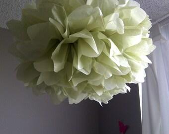 1 Celery Tissue Paper Pom Pom