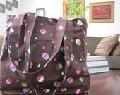 Upcycled Cupcake Shoulder Bag