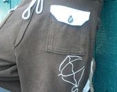 Mens Cargo Pants- Adjustable Waist Loose Fit