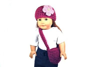 PATTERN American Girl Hat / Purse Set