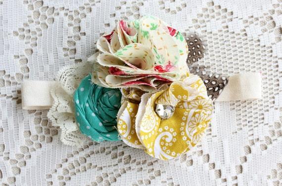 Flower Headband Baby Girls Spring Headband
