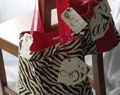 Mommy and Me Personalized Matching Tote Bags