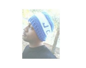 Crochet Monogram Hat (style 2)