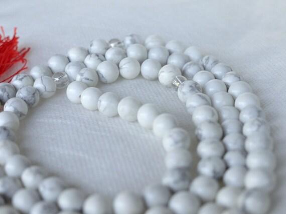 Howlite Prayer Beads: Balance, Peace and Wisdom